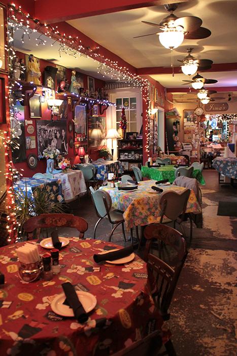 Inside Irma's Original Restaurant