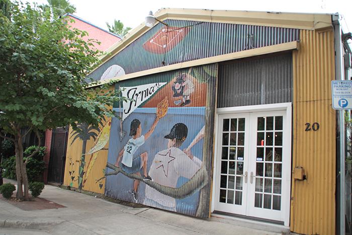 The west entrance of Irma's Original Restaurant